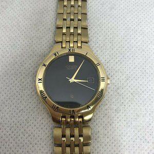 Citizen Quartz Date Men's Vintage WristWatch 5510
